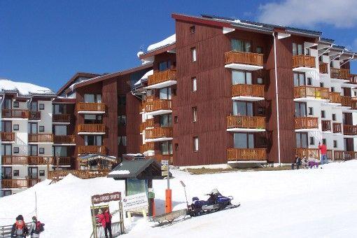 Vista esterna della casa vacanze Affitto Monolocale 44220 La Plagne