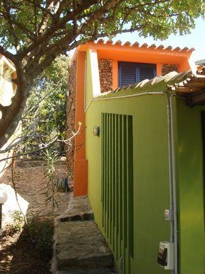 Vista esterna della casa vacanze Affitto Appartamento 44600 Villasimius