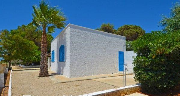 Vista esterna della casa vacanze Affitto Casa 45348 Pescoluse