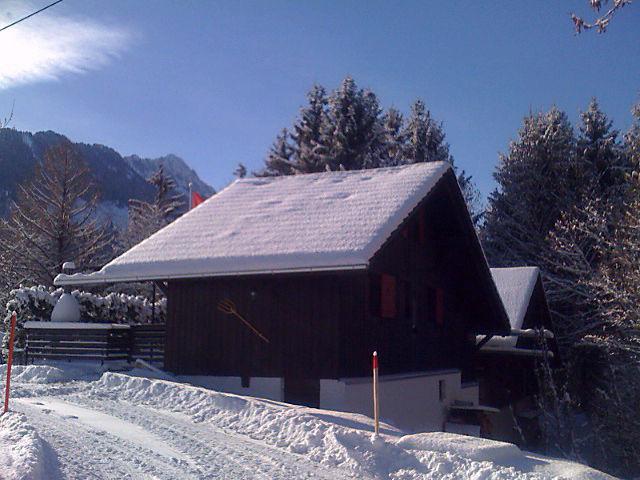 Vista esterna della casa vacanze Affitto Chalet 4805 Charmey