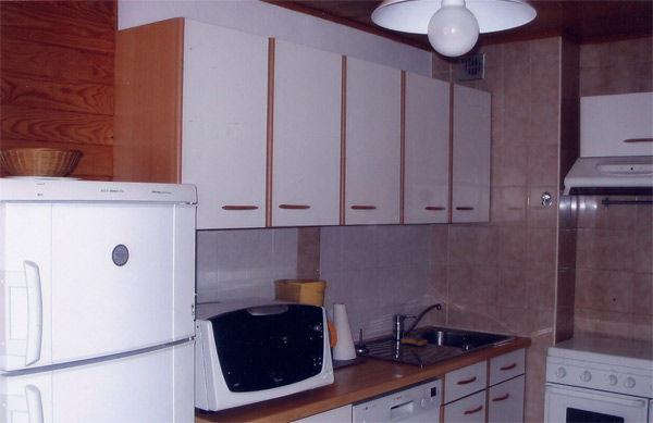 Cucina separata Affitto Appartamento 48985 La Chapelle d'Abondance