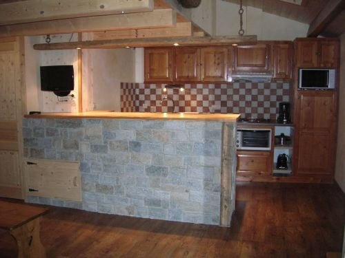 Cucina all'americana Affitto Appartamento 50770 Val Cenis