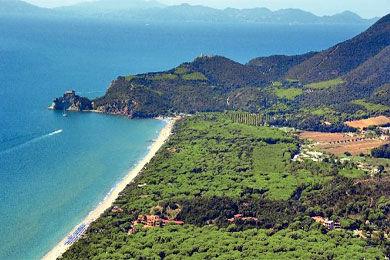 Vista nelle vicinanze Affitto Casa 52660 Castiglione della Pescaia