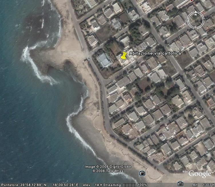 Vista dalla casa vacanze Affitto Appartamento 52704 Gallipoli