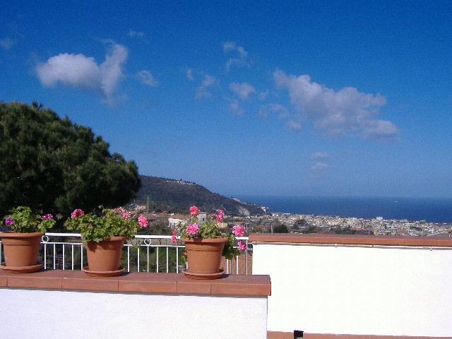 Vista dal terrazzo Affitto Appartamento 53852 Sorrento