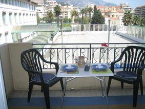 Vista dal terrazzo Affitto Appartamento 5403 Menton (Mentone)