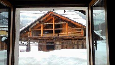 Vista dal balcone Affitto Appartamento 55088 Falcade