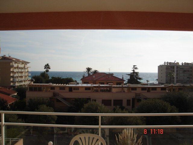 Vista dal terrazzo Affitto Appartamento 56046 Roquebrune Cap Martin