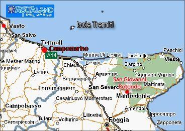 Mappa Affitto Appartamento 57140 Campomarino