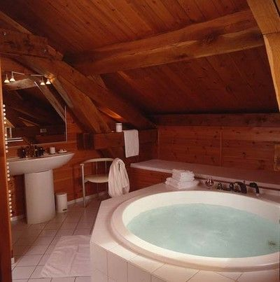 Bagno 1 Affitto Chalet 577 Champagny en Vanoise