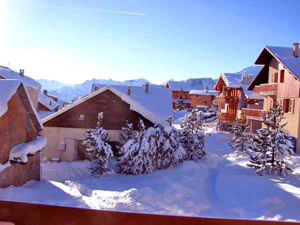 Vista dalla casa vacanze Affitto Chalet 57805 Monginevro