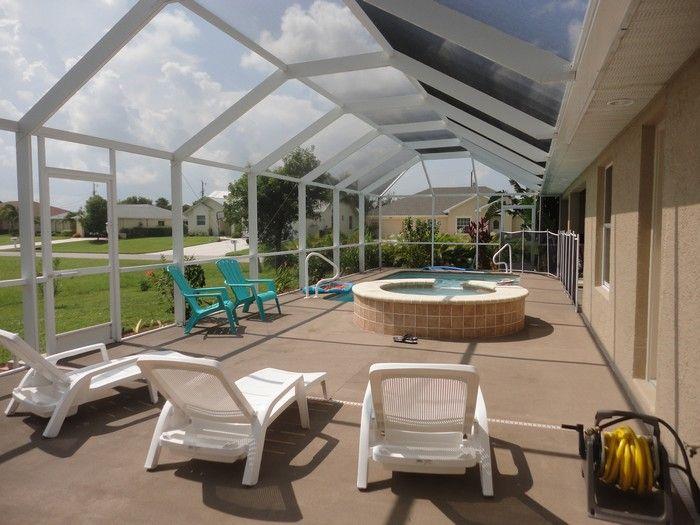 Vista dal terrazzo Affitto Villa  57904 Cape Coral