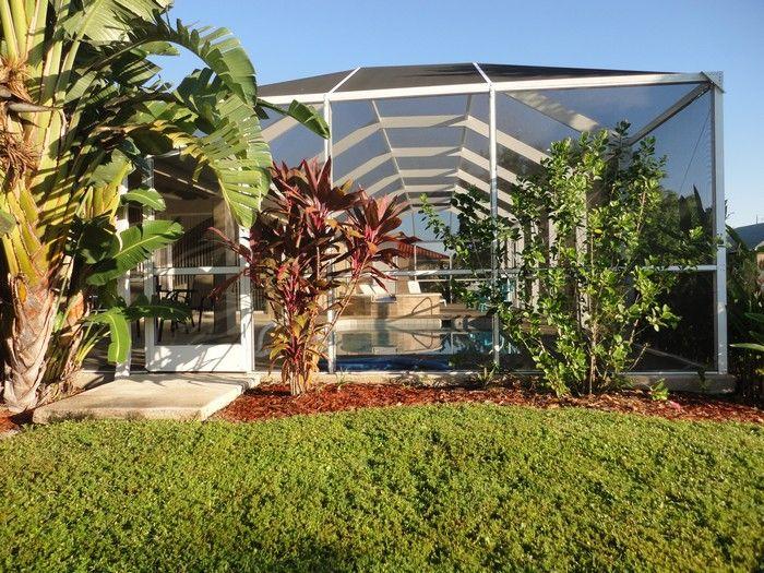 Vista esterna della casa vacanze Affitto Villa  57904 Cape Coral