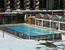 Piscina Affitto Monolocale 57992 La Plagne