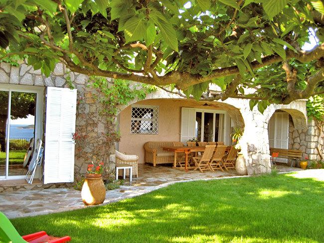 Vista dal terrazzo Affitto Villa  59191 Sainte Lucie de Porto Vecchio