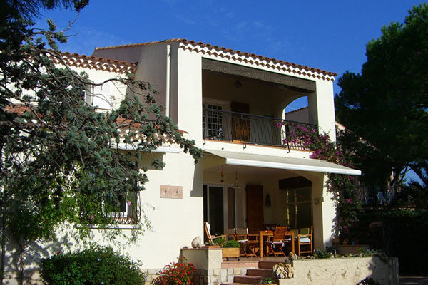 Vista esterna della casa vacanze Affitto Appartamento 5933 La Ciotat