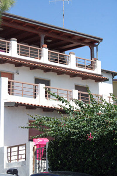 Vista esterna della casa vacanze Affitto Appartamento 60169 Isola di Capo Rizzuto