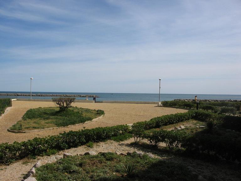 Vista dalla casa vacanze Affitto Monolocale 6111 Palavas-les-Flots