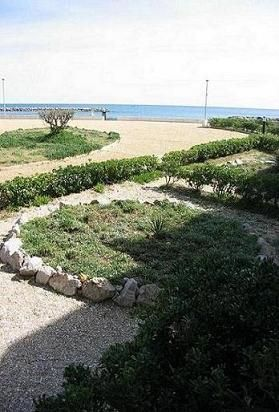 Vista dal terrazzo Affitto Monolocale 6111 Palavas-les-Flots
