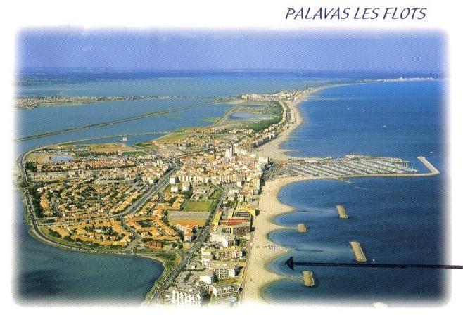 Mappa Affitto Monolocale 6111 Palavas-les-Flots
