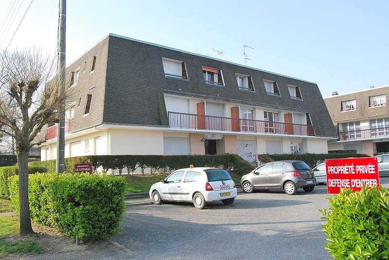 Vista esterna della casa vacanze Affitto Appartamento 62026 Cabourg