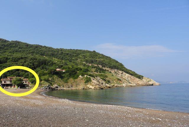 Vista esterna della casa vacanze Affitto Appartamento 62556 Rio nell'Elba