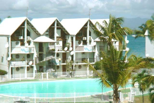 Vista dal balcone Affitto Monolocale 8004 Gosier (Guadalupa)