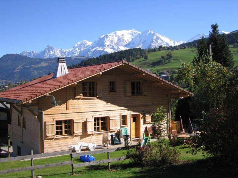 Vista esterna della casa vacanze Affitto Chalet 896 Combloux