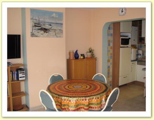 Sala da pranzo Affitto Appartamento 9556 De Panne