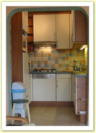 Cucina separata Affitto Appartamento 9556 De Panne
