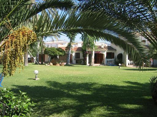 Vista dalla casa vacanze Affitto Bungalow 9706 Dénia