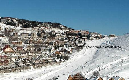 Vista dalla casa vacanze Affitto Appartamento 66253 Prato Nevoso