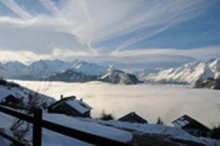 Vista dal terrazzo Affitto Appartamento 81042 Alpe d'Huez