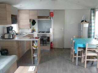 Angolo cottura Affitto Casa mobile 90517 Vias Plage