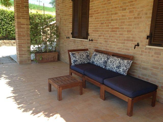 Vista esterna della casa vacanze Affitto Appartamento 88150 Fermo