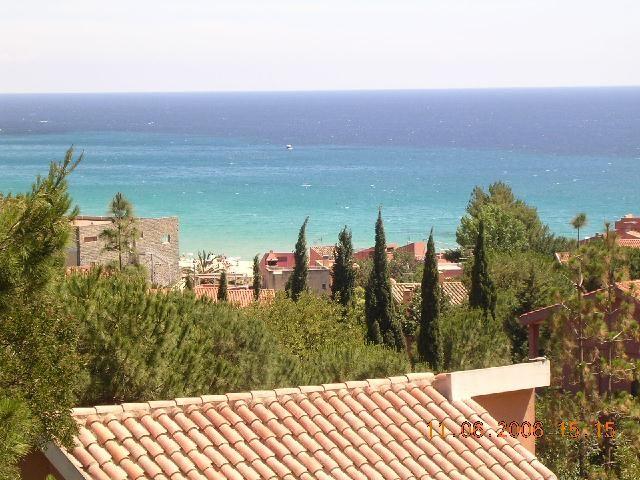 Vista dalla casa vacanze Affitto Villa  97576 Villasimius