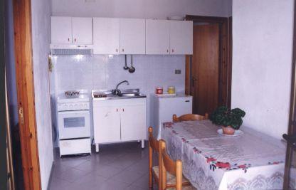Cucina separata Affitto Appartamento 74466 Capo Vaticano