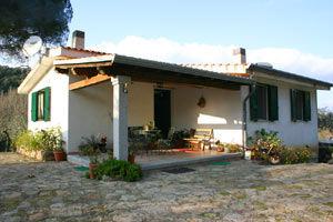 Vista esterna della casa vacanze Affitto Casa 78172 Cala Gonone