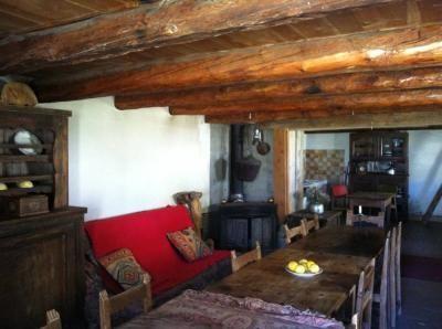 Soggiorno 2 Affitto Chalet 79860 Arvieux en Queyras