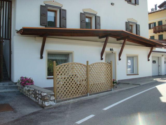 Vista esterna della casa vacanze Affitto Appartamento 80005 Santo Stefano di Cadore