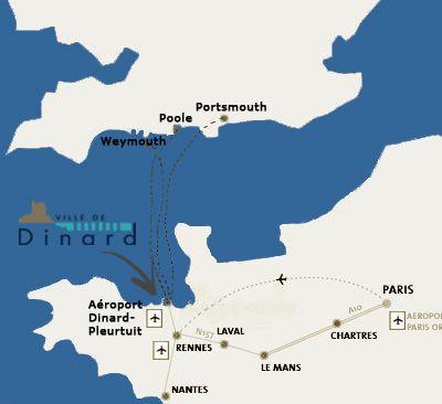 Mappa Affitto Appartamento 94885 Dinard
