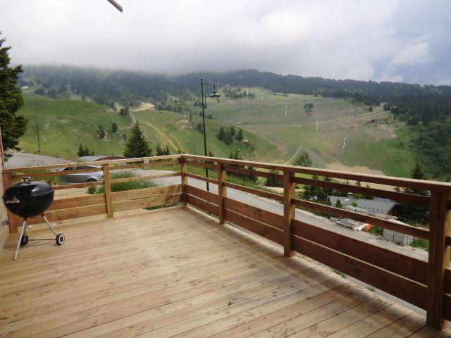 Vista dal terrazzo Affitto Chalet 88811 Chamrousse