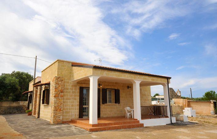 Vista esterna della casa vacanze Affitto Appartamento 79039 Gallipoli