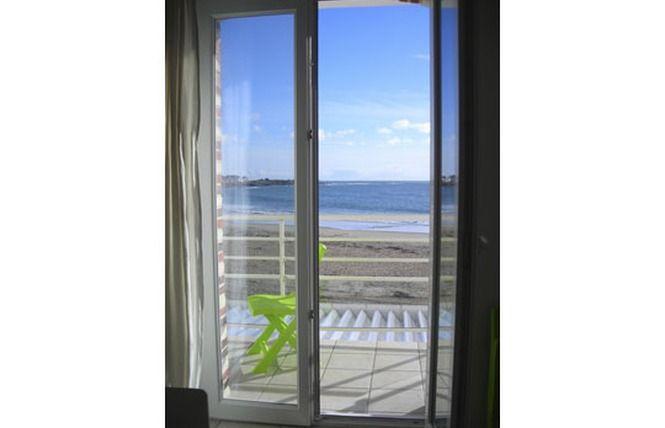 Vista dalla casa vacanze Affitto Appartamento 81600 Quiberon
