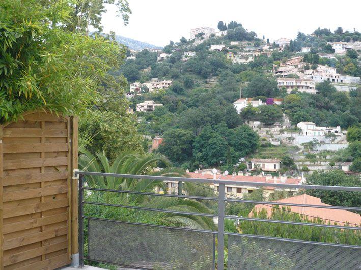 Vista dal terrazzo Affitto Appartamento 96725 Menton (Mentone)