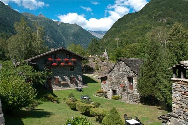 Vista esterna della casa vacanze Affitto Agriturismo 85439 Verbania
