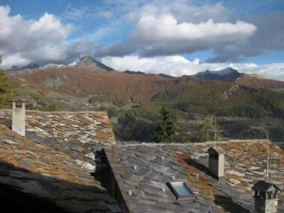 Vista dal terrazzo Affitto Appartamento 74280 Torgnon