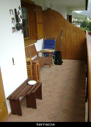 Terrazzo Affitto Appartamento 80614 Selva di Cadore