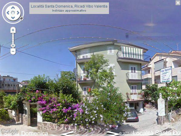 Vista esterna della casa vacanze Affitto Appartamento 68556 Tropea