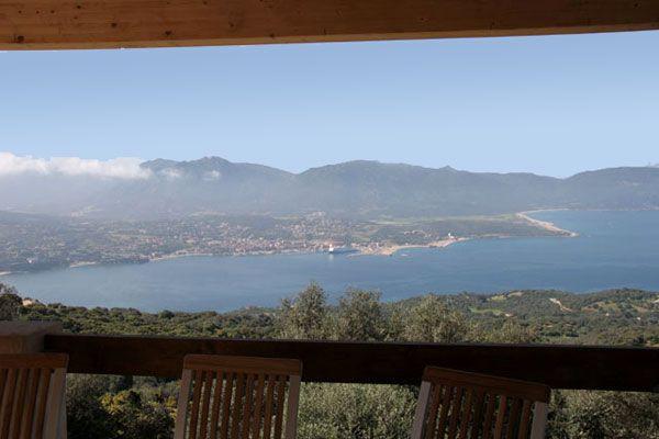 Vista dalla casa vacanze Affitto Villa  87574 Propriano